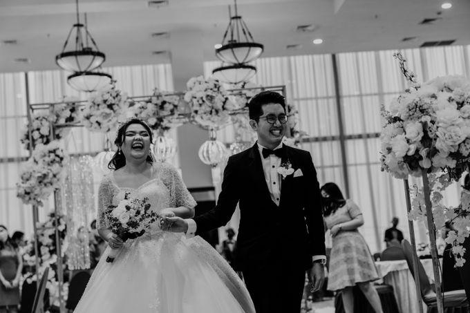 Andrew & Mercia Wedding at Whiz Prime Hotel Jakarta by AKSA Creative - 027