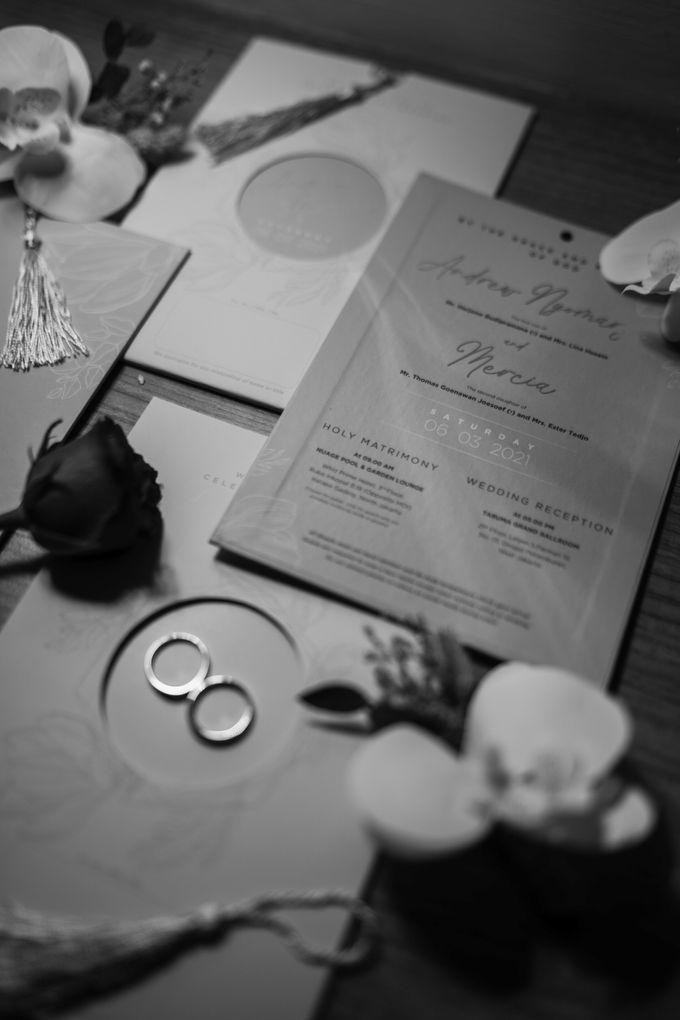 Andrew & Mercia Wedding at Whiz Prime Hotel Jakarta by AKSA Creative - 022