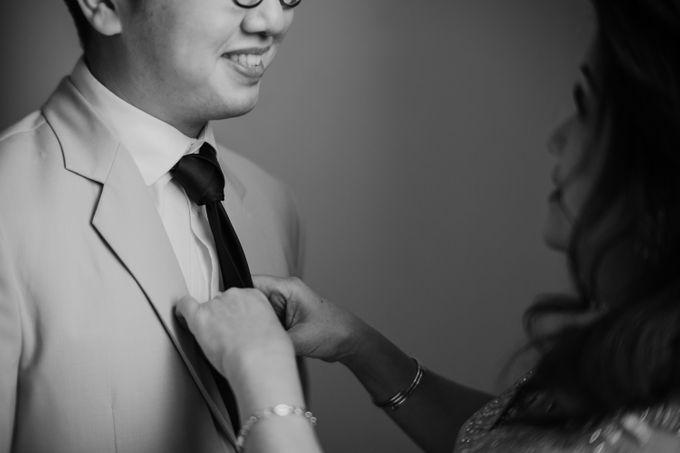 Andrew & Mercia Wedding at Whiz Prime Hotel Jakarta by AKSA Creative - 024