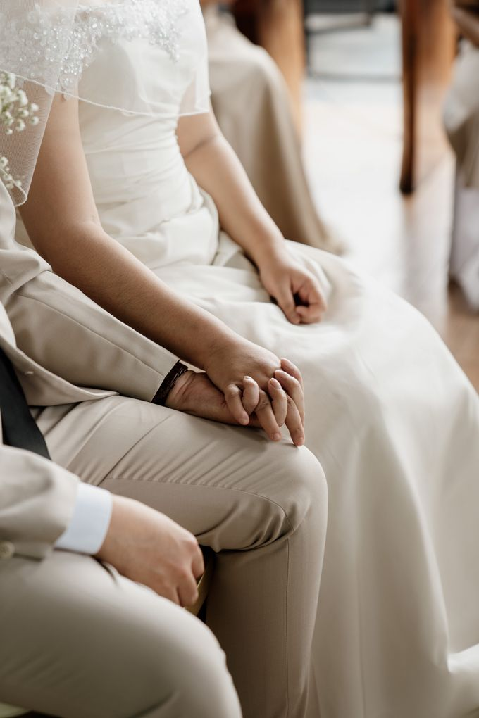 Andrew & Mercia Wedding at Whiz Prime Hotel Jakarta by AKSA Creative - 037