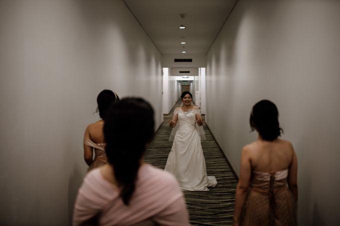 Andrew & Mercia Wedding at Whiz Prime Hotel Jakarta by AKSA Creative - 021