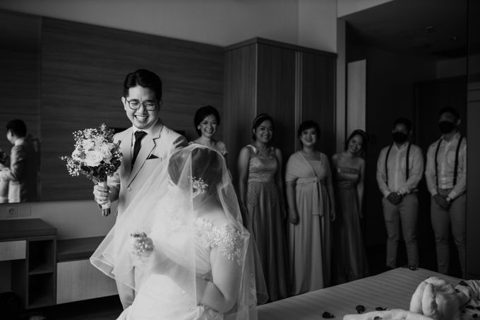 Andrew & Mercia Wedding at Whiz Prime Hotel Jakarta by AKSA Creative - 013