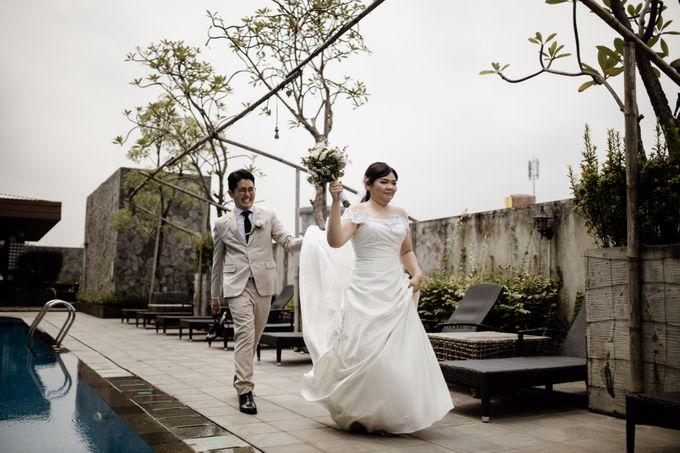 Andrew & Mercia Wedding at Whiz Prime Hotel Jakarta by AKSA Creative - 007