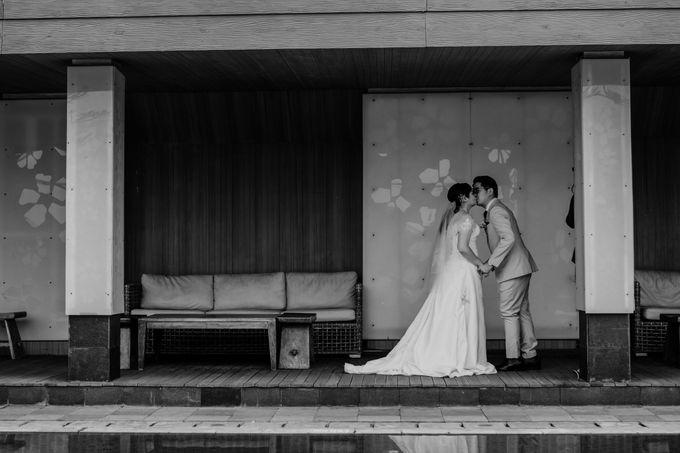 Andrew & Mercia Wedding at Whiz Prime Hotel Jakarta by AKSA Creative - 005