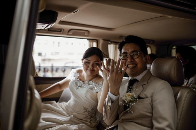 Andrew & Mercia Wedding at Whiz Prime Hotel Jakarta by AKSA Creative - 002