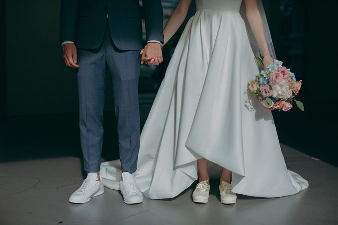 Pastel Rustic wedding ceremony at Imaginarium The Chapel by Eufloria - 001