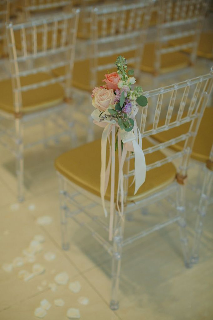 Pastel Rustic wedding ceremony at Imaginarium The Chapel by Eufloria - 003
