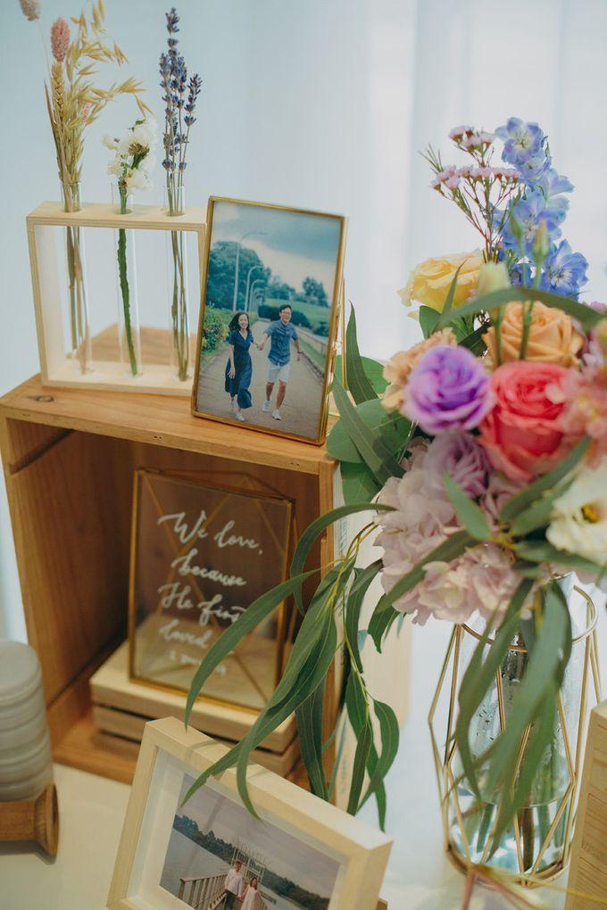 Pastel Rustic wedding ceremony at Imaginarium The Chapel by Eufloria - 005