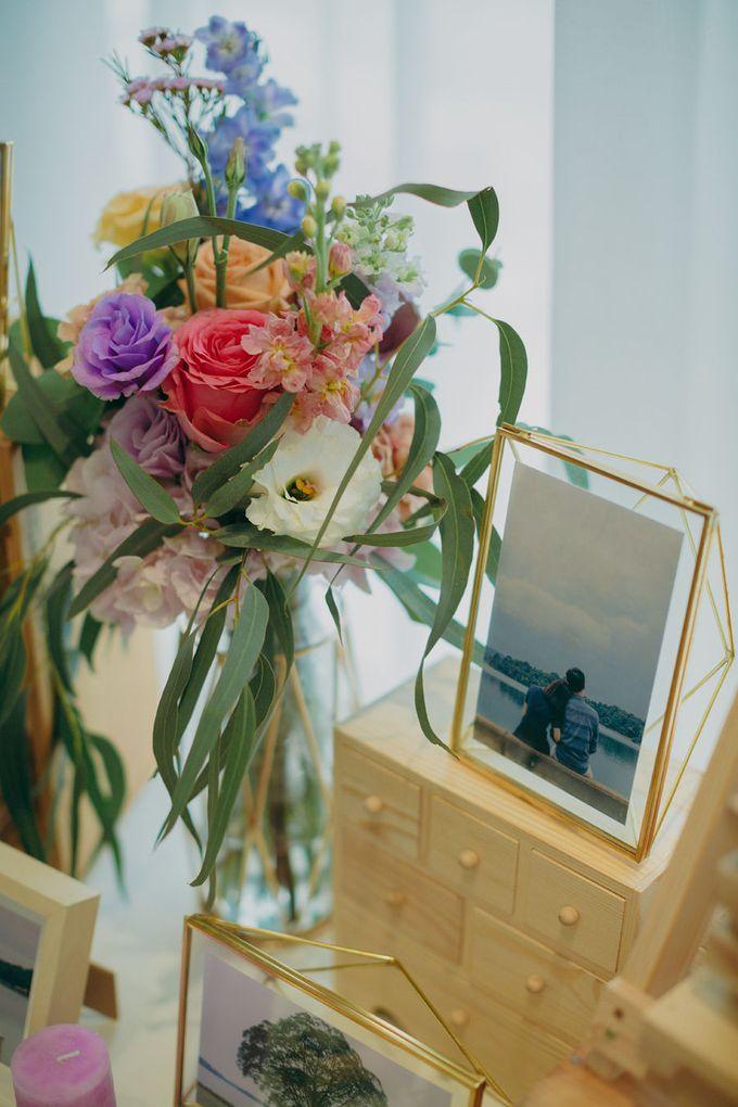 Pastel Rustic wedding ceremony at Imaginarium The Chapel by Eufloria - 006