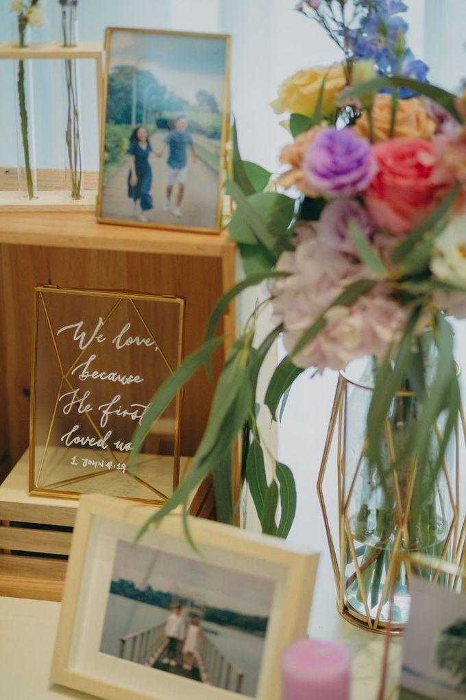 Pastel Rustic wedding ceremony at Imaginarium The Chapel by Eufloria - 011