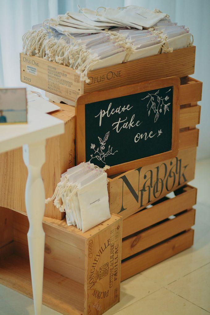 Pastel Rustic wedding ceremony at Imaginarium The Chapel by Eufloria - 013