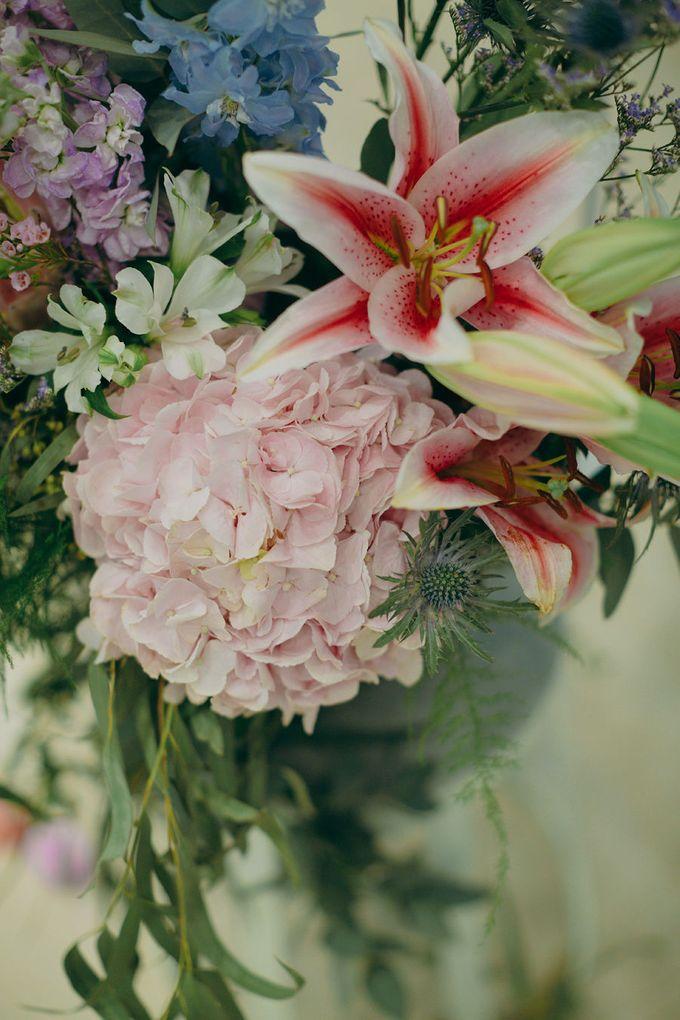 Pastel Rustic wedding ceremony at Imaginarium The Chapel by Eufloria - 018