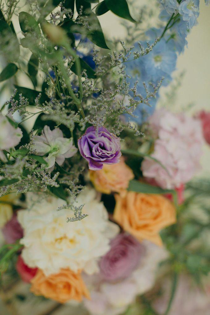 Pastel Rustic wedding ceremony at Imaginarium The Chapel by Eufloria - 019