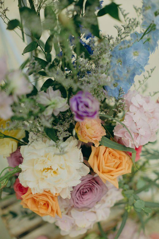 Pastel Rustic wedding ceremony at Imaginarium The Chapel by Eufloria - 020