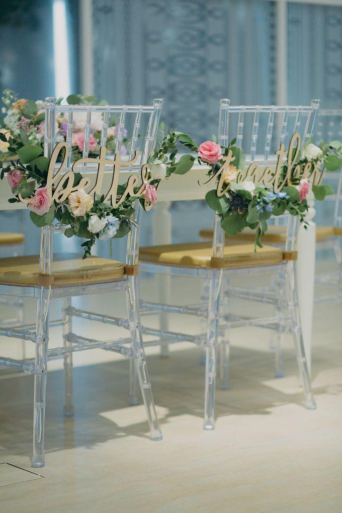 Pastel Rustic wedding ceremony at Imaginarium The Chapel by Eufloria - 021