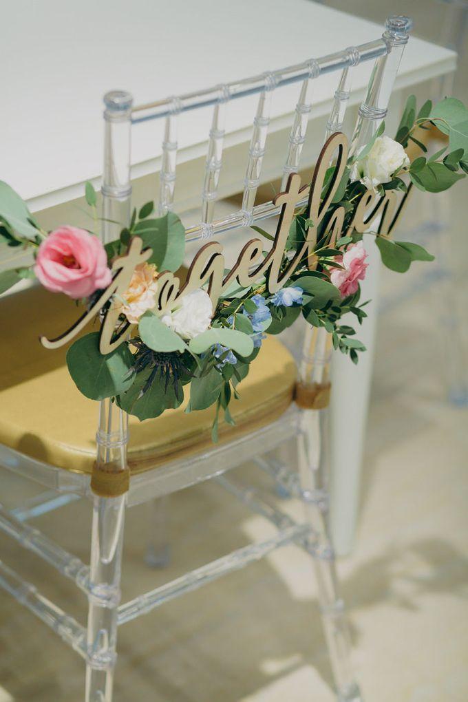 Pastel Rustic wedding ceremony at Imaginarium The Chapel by Eufloria - 022