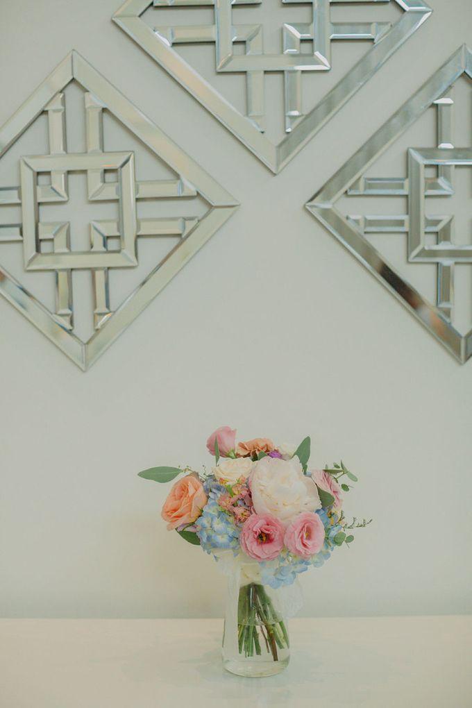 Pastel Rustic wedding ceremony at Imaginarium The Chapel by Eufloria - 033