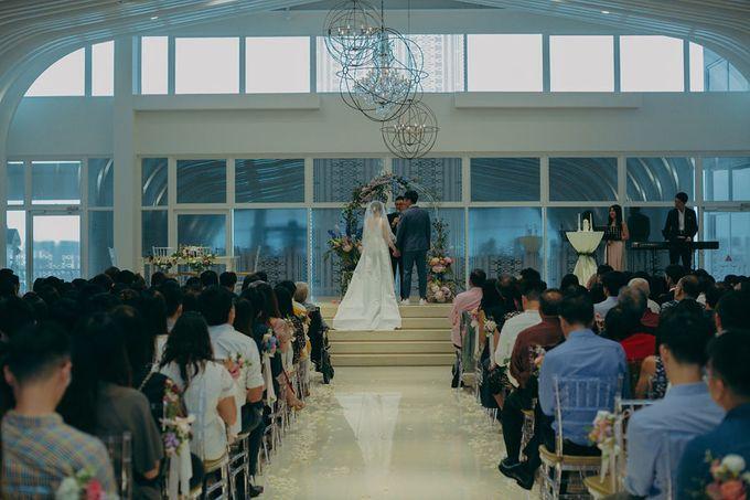 Pastel Rustic wedding ceremony at Imaginarium The Chapel by Eufloria - 037