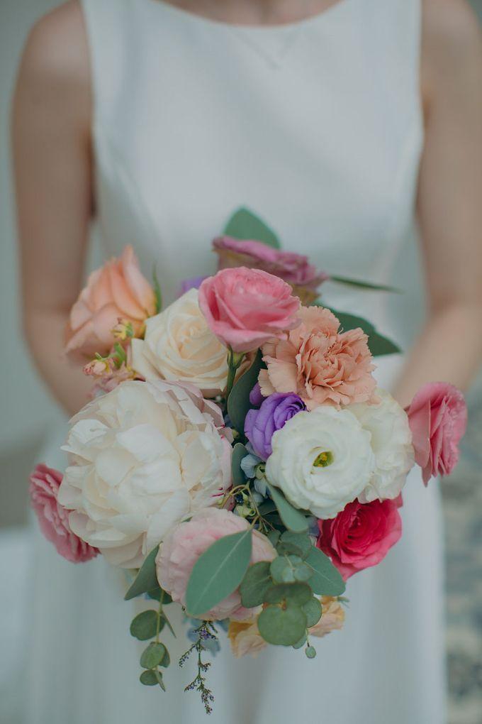 Pastel Rustic wedding ceremony at Imaginarium The Chapel by Eufloria - 040