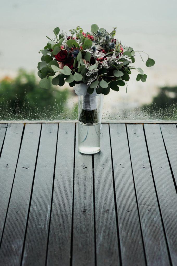 Rustic Elegant Wedding Decoration by Silverdust Decoration - 003