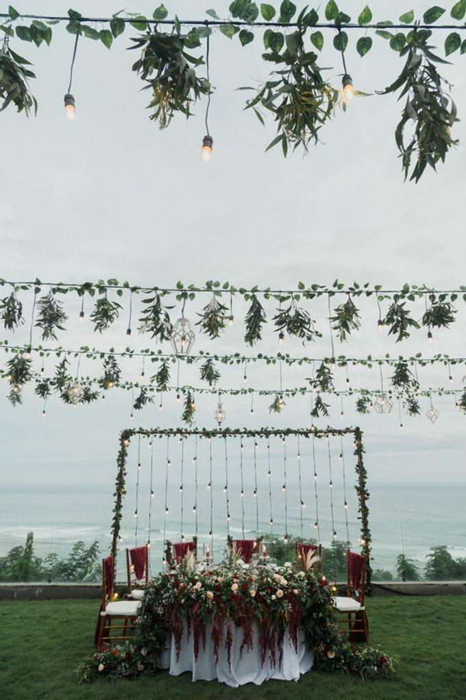 Rustic Elegant Wedding Decoration by Silverdust Decoration - 013