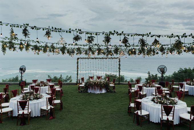 Rustic Elegant Wedding Decoration by Silverdust Decoration - 014