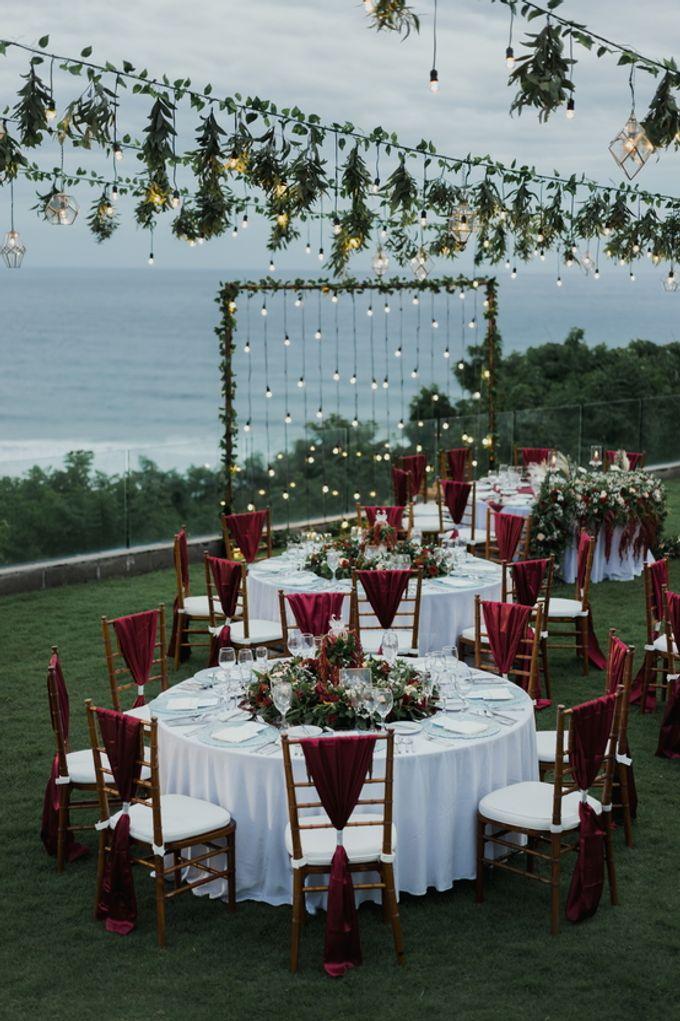 Rustic Elegant Wedding Decoration by Silverdust Decoration - 016