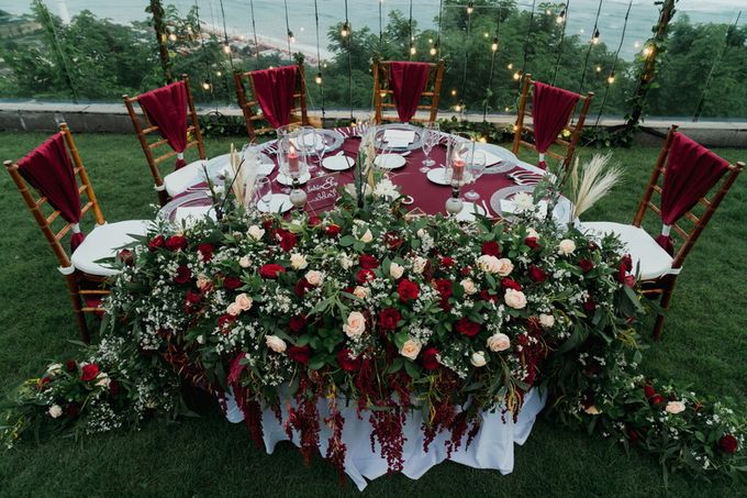 Rustic Elegant Wedding Decoration by Silverdust Decoration - 017