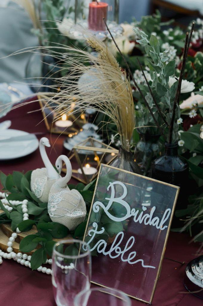 Rustic Elegant Wedding Decoration by Silverdust Decoration - 019