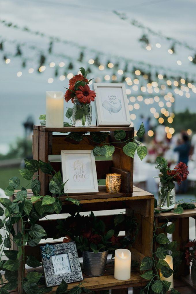 Rustic Elegant Wedding Decoration by Silverdust Decoration - 020