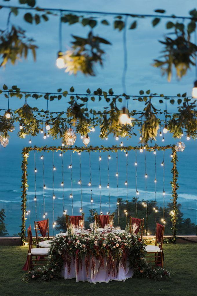 Rustic Elegant Wedding Decoration by Silverdust Decoration - 022