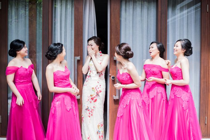 Ria & Andri - Chinese Wedding Traditions by Awarta Nusa Dua Resort & Villas - 033