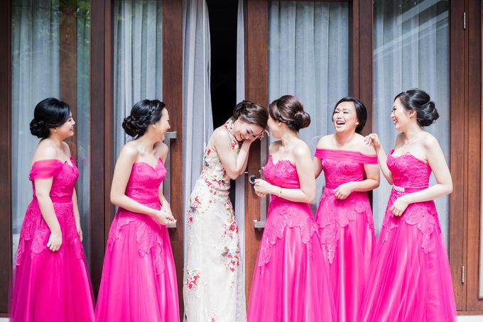 Ria & Andri - Chinese Wedding Traditions by Awarta Nusa Dua Resort & Villas - 034