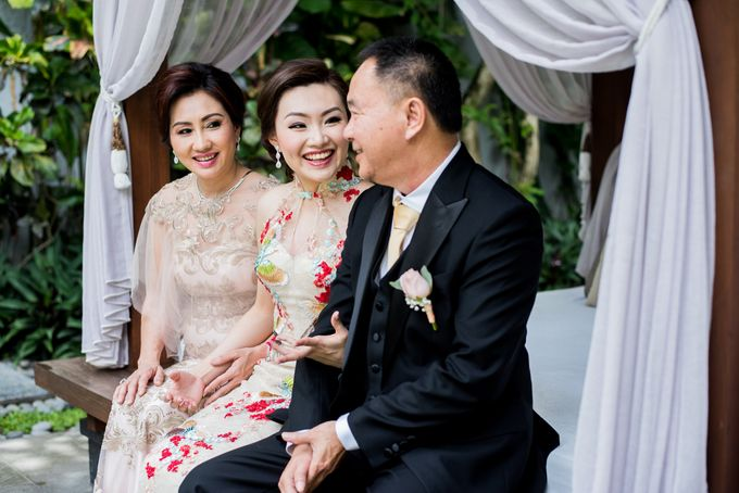 Ria & Andri - Chinese Wedding Traditions by Awarta Nusa Dua Resort & Villas - 047