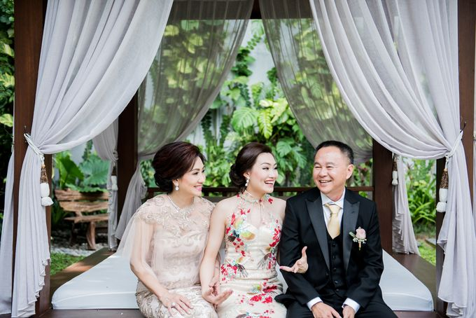 Ria & Andri - Chinese Wedding Traditions by Awarta Nusa Dua Resort & Villas - 048
