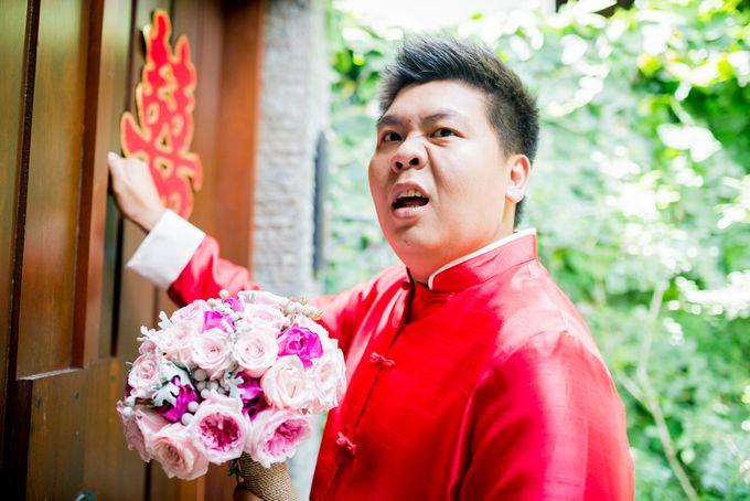Ria & Andri - Chinese Wedding Traditions by Awarta Nusa Dua Resort & Villas - 049