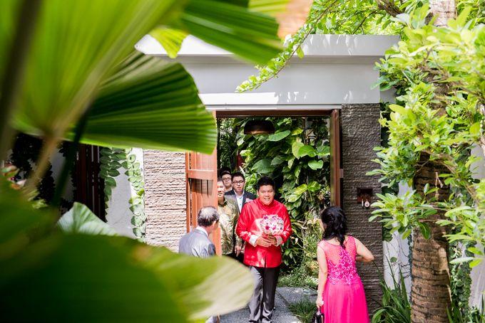 Ria & Andri - Chinese Wedding Traditions by Awarta Nusa Dua Resort & Villas - 036
