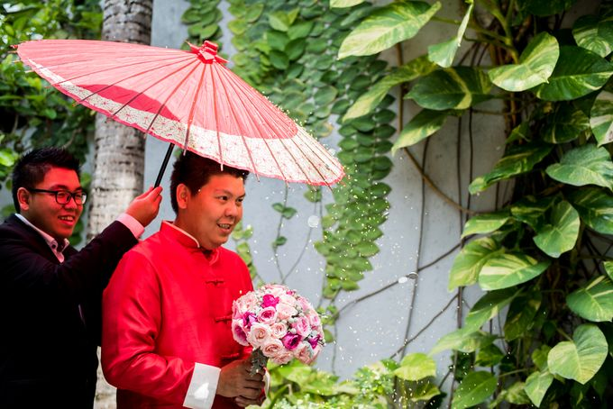 Ria & Andri - Chinese Wedding Traditions by Awarta Nusa Dua Resort & Villas - 037