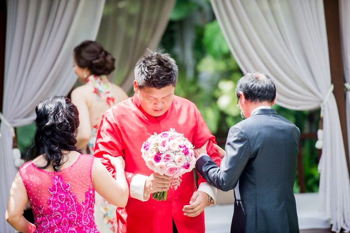Ria & Andri - Chinese Wedding Traditions by Awarta Nusa Dua Resort & Villas - 039
