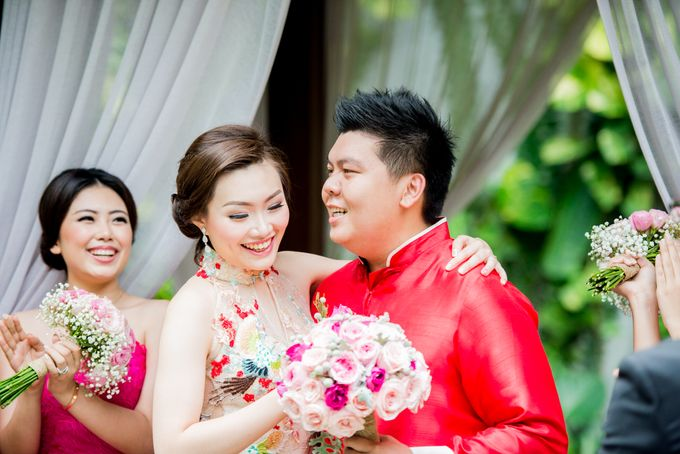 Ria & Andri - Chinese Wedding Traditions by Awarta Nusa Dua Resort & Villas - 045