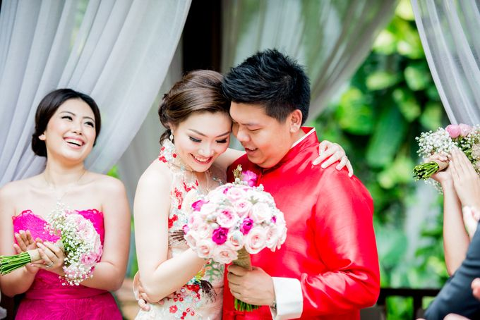 Ria & Andri - Chinese Wedding Traditions by Awarta Nusa Dua Resort & Villas - 046