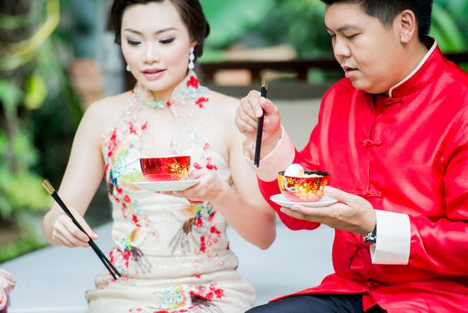 Ria & Andri - Chinese Wedding Traditions by Awarta Nusa Dua Resort & Villas - 040