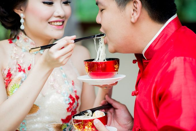Ria & Andri - Chinese Wedding Traditions by Awarta Nusa Dua Resort & Villas - 041