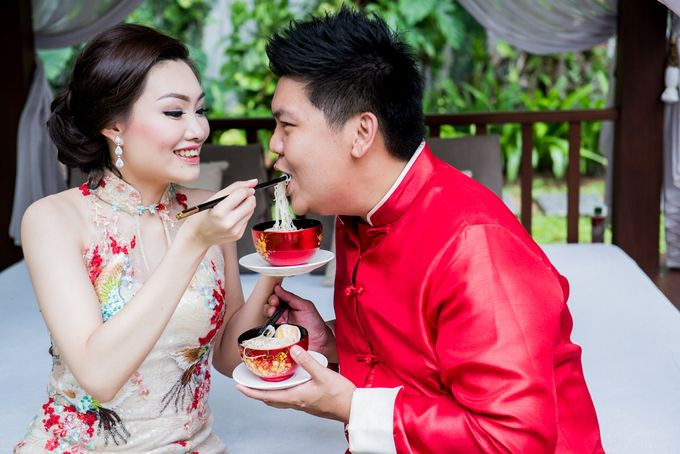 Ria & Andri - Chinese Wedding Traditions by Awarta Nusa Dua Resort & Villas - 042