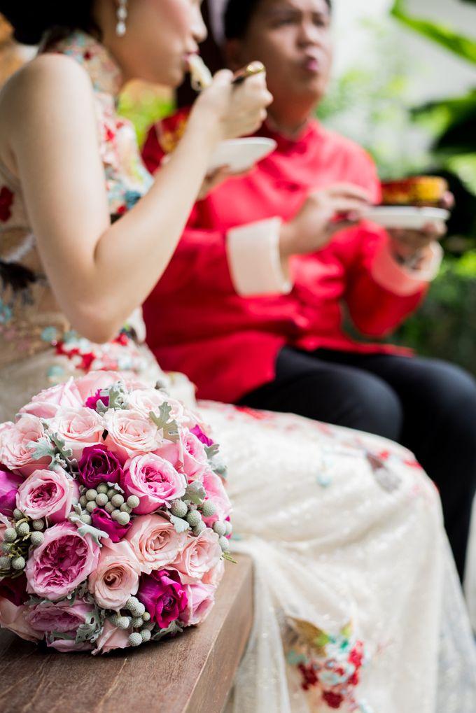 Ria & Andri - Chinese Wedding Traditions by Awarta Nusa Dua Resort & Villas - 043