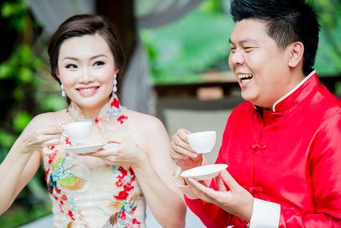 Ria & Andri - Chinese Wedding Traditions by Awarta Nusa Dua Resort & Villas - 044