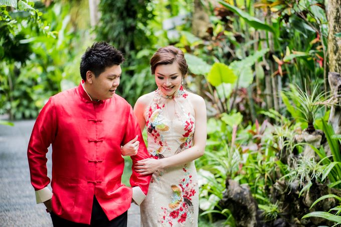 Ria & Andri - Chinese Wedding Traditions by Awarta Nusa Dua Resort & Villas - 005