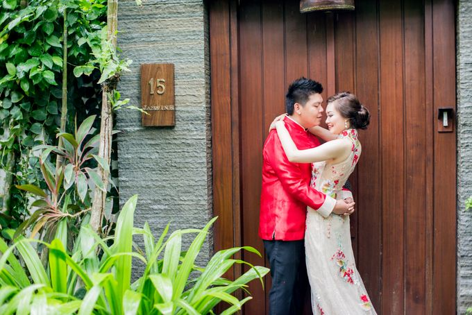Ria & Andri - Chinese Wedding Traditions by Awarta Nusa Dua Resort & Villas - 004