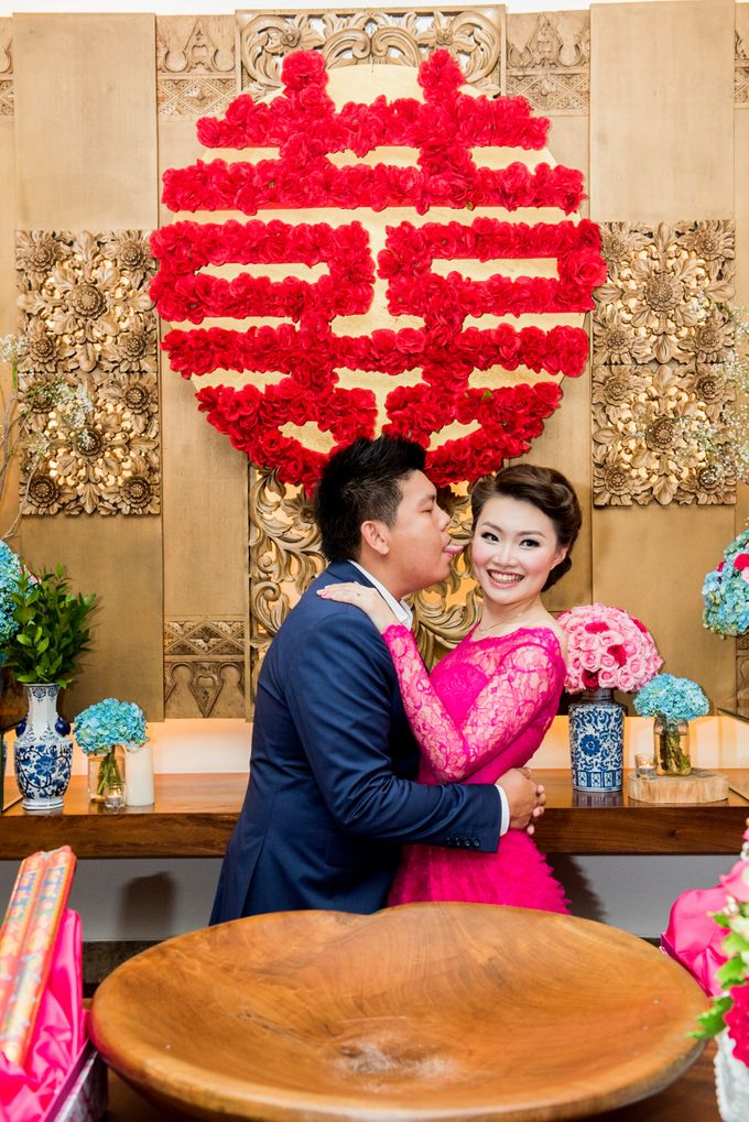 Ria & Andri - Chinese Wedding Traditions by Awarta Nusa Dua Resort & Villas - 007