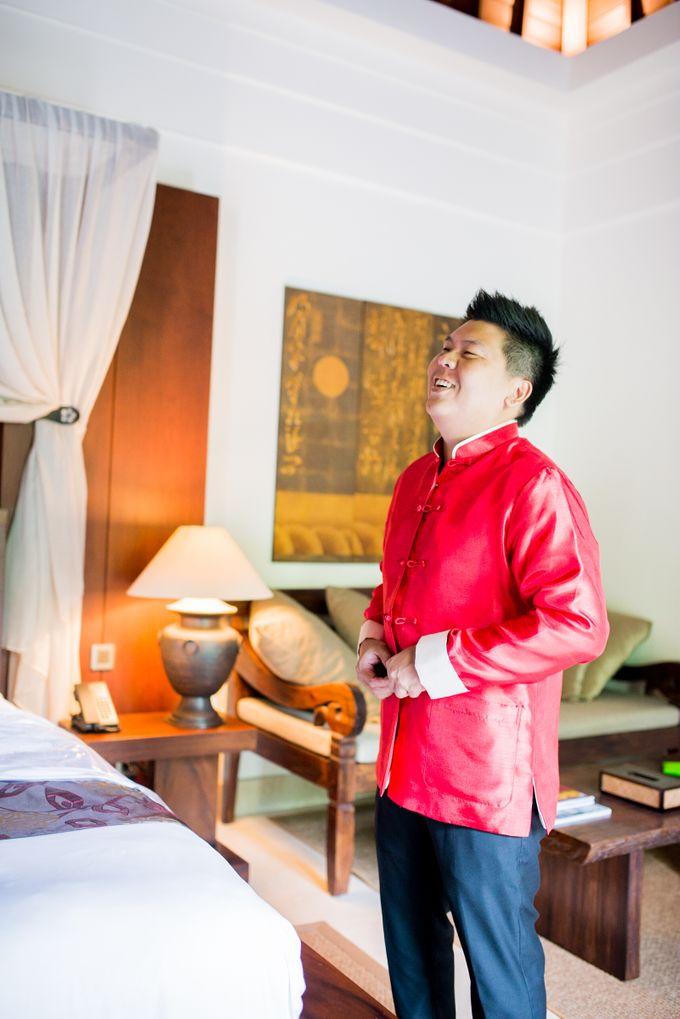 Ria & Andri - Chinese Wedding Traditions by Awarta Nusa Dua Resort & Villas - 026